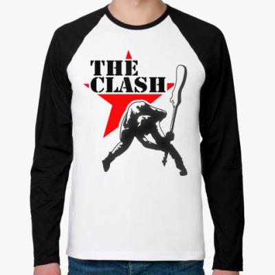 Футболка реглан с длинным рукавом The Clash