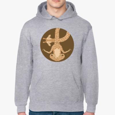Толстовка худи Animal Zen: G is for Giraffe
