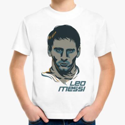 Детская футболка Leo Messi