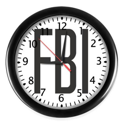 Настенные часы FBI (ФБР)