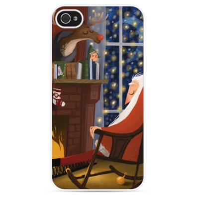 Чехол для iPhone 'Santa'