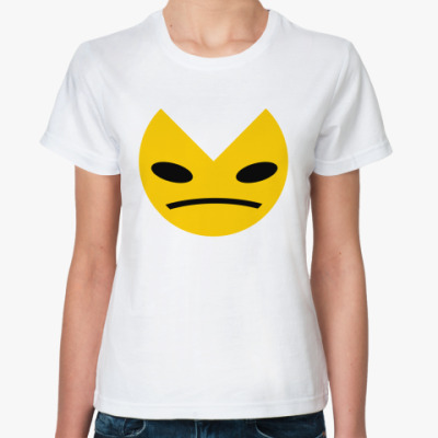 Классическая футболка  KISA