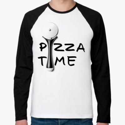 Футболка реглан с длинным рукавом Pizza Time