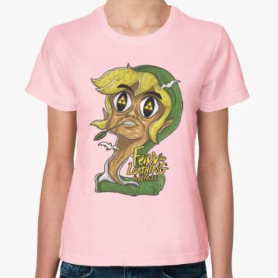 Женская футболка Страх и ненависть в Хайрул