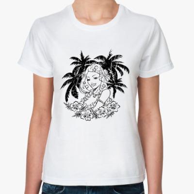Классическая футболка Тропики