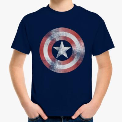 Детская футболка Captain America