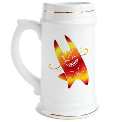 Пивная кружка Солнечный зайчик