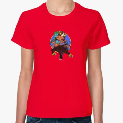 Женская футболка Бубенчик