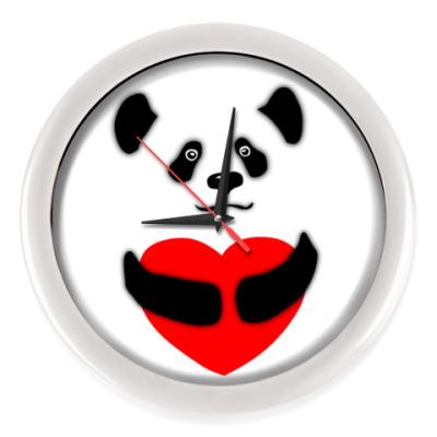 Настенные часы Панда
