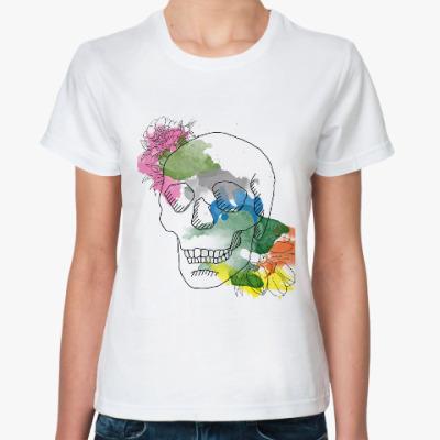 Классическая футболка Июньский череп