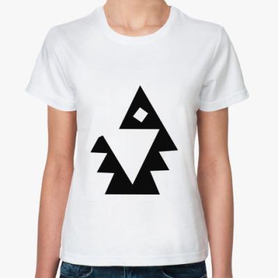 Классическая футболка  'Ель'