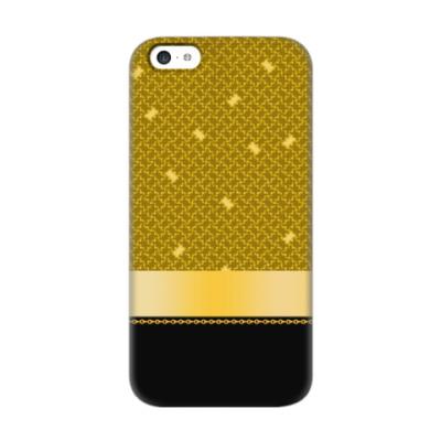 Чехол для iPhone 5c Золотой дизайн
