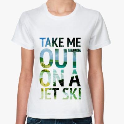 Классическая футболка 'Ski'