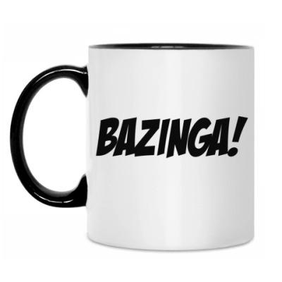 Кружка 'BAZINGA!'