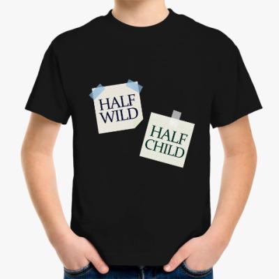 Детская футболка Наполовину ребенок