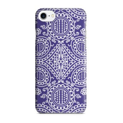 Чехол для iPhone 7/8 Индийский орнамент