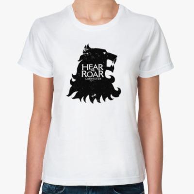 Классическая футболка Lannister, Game Of Thron