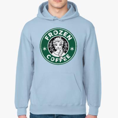 Толстовка худи Frozen coffee