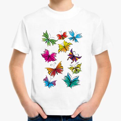 Детская футболка 'Бабочки'