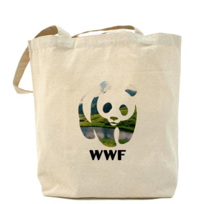 Сумка WWF. Панда. Природа
