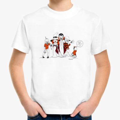 Детская футболка Тыквы-монстры