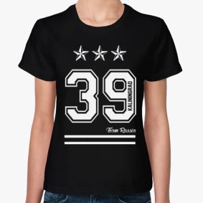 Женская футболка Калининград