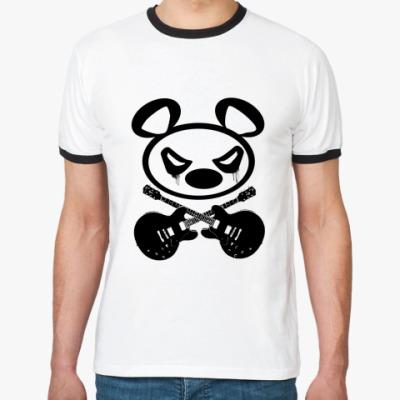 Футболка Ringer-T   Panda