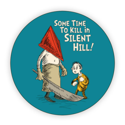 Костер (подставка под кружку) Silent Hill Pyramid Head