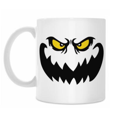 Кружка Страшное лицо