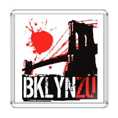 Магнит Brooklyn Zu