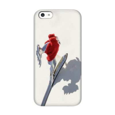 Чехол для iPhone 5c Олень в свитере ГАЗ 21