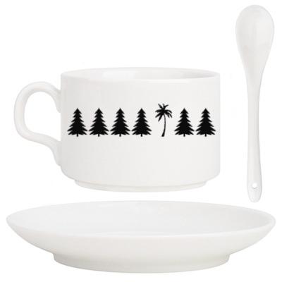 Кофейный набор Другое дерево