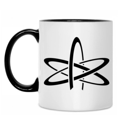 Кружка символ атеизма