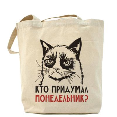 Сумка Злой и сердитый кот. Angry cat