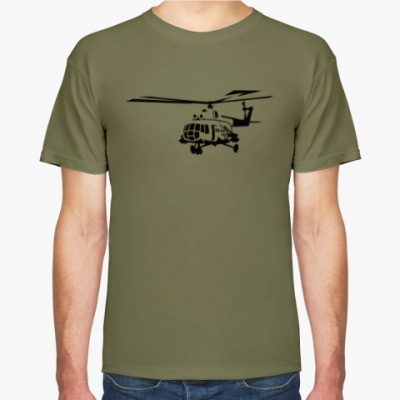 Футболка Вертолёт Ми-8