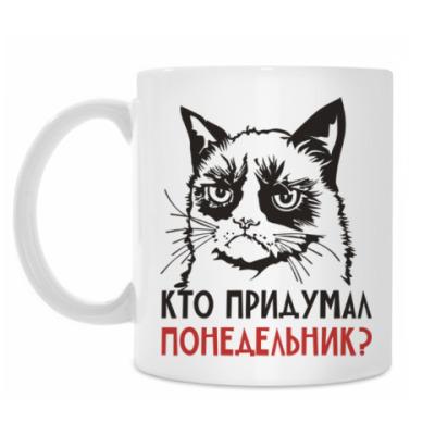 Кружка Злой и сердитый кот. Angry cat