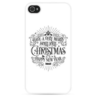 Чехол для iPhone Новый 2015 год (овцы, козы)