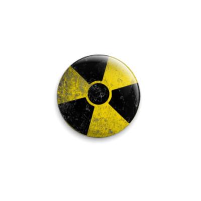 Значок 25мм RA Contamination