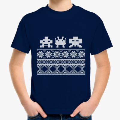 Детская футболка Космический захватчик