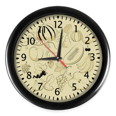 Настенные часы Фрукты