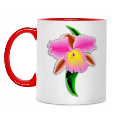 Кружка Орхидея