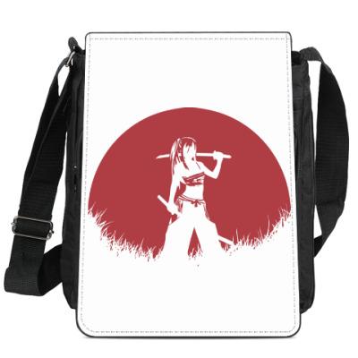 Сумка-планшет Аниме самурай