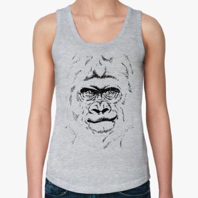 Женская майка горилла