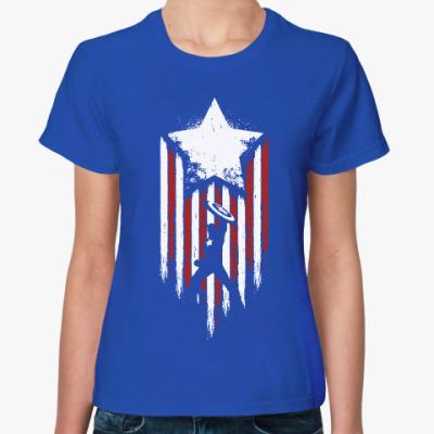 Женская футболка Первый мститель:Противостояние