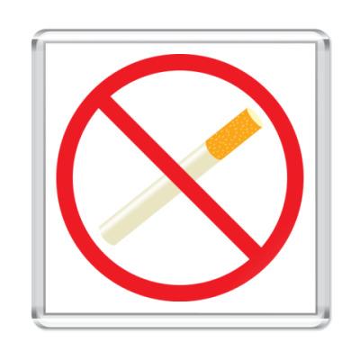 Магнит No smoking