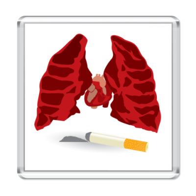 Магнит  вред курения!