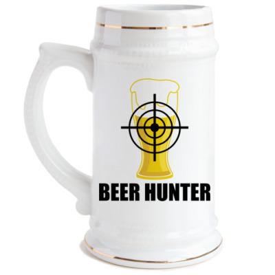 Пивная кружка Beer Hunter