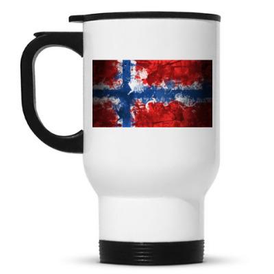 Кружка-термос 'Норвежский флаг'