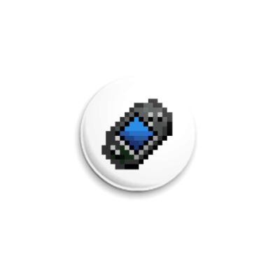 Значок 25мм  ICQ Статус #25