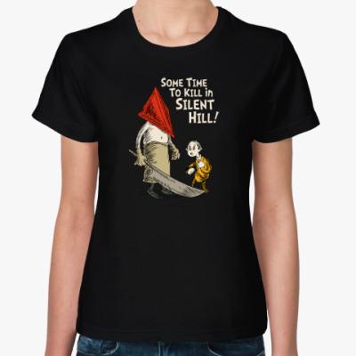 Женская футболка Silent Hill Pyramid Head